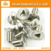 SS304 Screw Triangle Type Csk Head Tamper Proof Security Screws