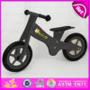 Best Quality Wooden Toy Bike Mini Kids Exercise Bike, Black Color Wooden Exercise Bike, Well Selling Wooden Exercise Bike W16c121