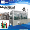 Series Carbonated Drink 3 in 1 Spirit Drink Filling Machine