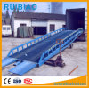 10ton Mobile Steel Hydraulic Warehouse Container Loading Ramp