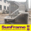 Stair Concrete Pouring by Aluminium Formwork