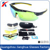 Cool Black Frame Anti Strong Glare Polarized Outdoor Sports Sunglasses Wholesale