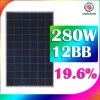 Solar Jet Control Inverter 270W 275W 280W Solar Cells Panels Cost Versus Savings South Africa for Home