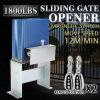 800kg Sliding Gate Opener Electric Operator Driveway Door Slide