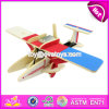 New Design Kids Assemble Puzzle Airplane Wooden Creative Toys W03b069