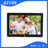 Full HD 1080P 12 Inch Plastic Photo Frame for Commercial Advertising Playing