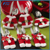 Santa Silverware Holders Christmas Decorations Dinner Christmas Ornament