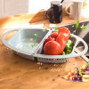 Folding Fruit and Vegetable Cleaning Drainage Basket