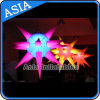 Inflatable LED Star Decoration/Inflatable Spiky Spheres Decoration with LED Lighting