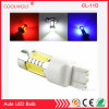 Amber Blue Red White 11W COB 7443 7440 T20 7444na LED Bulbs for Car LED Bulbs for Front Turn Signal Lights, Daytime Running Lights (T20 7443 7440, Yellow)