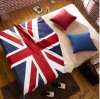 100% Polyester Coral Fleece UK Flag Design Baby Blanket
