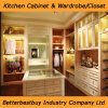 Partical Board Material Wardrobe with Drawer