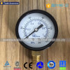 Steel Aluminum Gas Pressure Gauge with Without Plastic Case