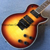 Lp DIY Guitar Kits / Flame Maple Top Lp Electric Guitar with Tremolo System (GLP-722)