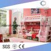 Wooden Furniture Princess Bunk Bed for Kids