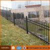 Powder Coating 2.4m Length Wrought Iron Tubular Fencing