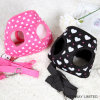 Printing Heart Dog Products Mesh Dog Harness with Leash