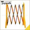 Yellow Black Plastic Extendable Barrier (S-1643)