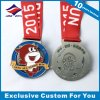 Marathon Medal Souvenir OEM Running Metal Medals with Ribbon