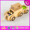2015 New Handmade Wooden Toy Car for Kid, Funny Play Wooden Toy Car for Children, Professional Manufacturer Wooden Toy Car W04A157