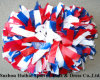 Plastic POM Poms: 3 Colors Mix