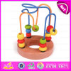2015 Intelligence Wood Stringing Beads Pull String Toy, Original Rollercoaster Bead Maze, Funny Play Wooden Bead Maze Toy W11b067