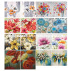Flower Canvas Printing Home Deco Hand Oil Painting Canvas