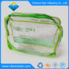 Custom Transparent Plastic Sewing Zipper Clear PVC Cosmetic Bag