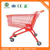 Advertising Display Board Shopping Trolley Cart