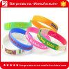 Custom Shape Silicone Brand Name Bracelet