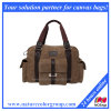 Vintage Washed Canvas Handbag with Big Capability