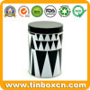 Food Packaging Storage Box Round Metal Tin Can Coffee Tins