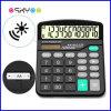 Office Supply 12 Digits Desktop Solar Power Electronic Calculator