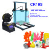 CR10S 3D Printer Large Printing Size With 1KG 3D Filaments