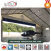 Hangar Tent with Aluminum Frame PVC Roof Cover ABS Wall and Door