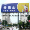 Hot-DIP Galvanized Double Side Outdoor Advertising Colunm Signage Board
