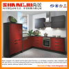 Red Elegant Modern Kitchen for Sale