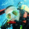 High Quality Diving Masks with Myopic Lens (OPT-2600A10)