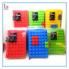 Promotion Gift Note Book Silicone Puzzle Cover Notebook