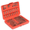 100PCS Chrome Vanadium Security Screwdriver Bit