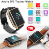 GPS Tracker Watch with Real Time Heart Rate Monitor for Elderly Y16
