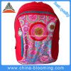 Red Polyester Girls Student Stationery School Backpack with Pencil Bag
