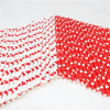 Beautiful Heart Paper Drinking Straws for Wedding Party