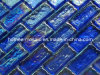 Blue Copper Glass Mosaic Tile Blend for Walls Borders Mosaic Sheet