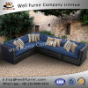 Well Furnir WF-17014 Wicker Sofa with Cushions