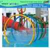 Excited Kids Play Water Park Game on Stock (HD-7313)