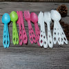 Disposable Cornstarch Colored Fork, Spoon, Knife Plastic PLA Cutlery