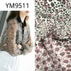 Ym9511 Printed Animal Pattern Silk Like Polyester Fabric for Dress