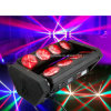 8X10W RGBW LED Spider Beam Moving Head Light