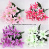 Magic Touch Faux Silk Lily Artificial Faux Lily Flower for Wedding and Home Decoration